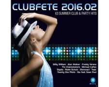 Artikelbild VARIOUS - Clubfete 2016.02 - 63 Summer Club & Party Hits CD Neu OVP