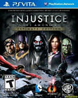 Injustice: Gods Among Us Ultimate Edition (PlayStation Vita, 2013) New Sealed