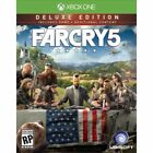 Far Cry 5 Deluxe Edition Bonus Exclusive Doomsday Prepper Pack PS4 or Xbox One