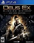 Deus Ex: Mankind Divided -- Day One Edition (Sony PlayStation 4, 2016)