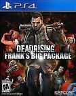 DEAD RISING 4 FRANK'S BIG PACKAGE PLAYSTATION 4 PS4 VIDEO GAME BRAND NEW SEALED